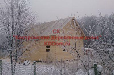 27. Дом из профилированного бруса 145х145 по проекту РБ-16 готов.