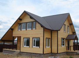 Готовые проекты по возведению деревянных домов из бруса
